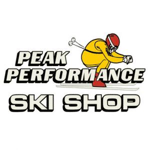 Peak Performance Ski Shop logo