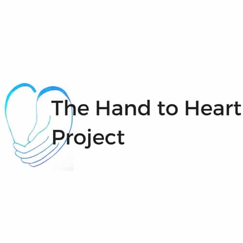 The Hand to Heart Project logo
