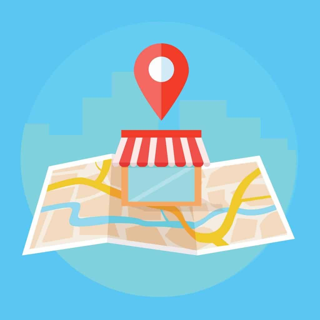 Local search and local SEO graphic